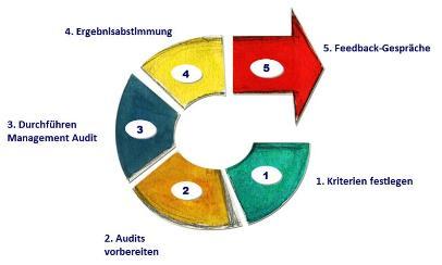 Ablauf Management Audits