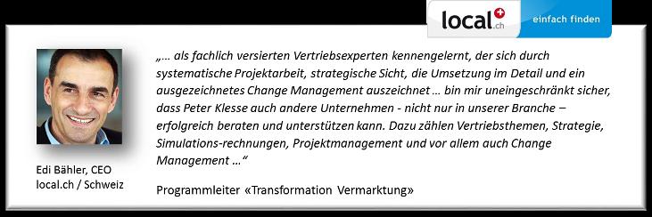Referenz Edi Baehler local.ch