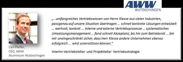 Referenz Carl Pfeffer AWW
