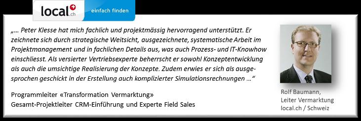 Referenz Rolf Baumann local.ch